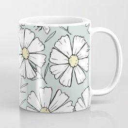 Bees and cosmos flowers Coffee Mug