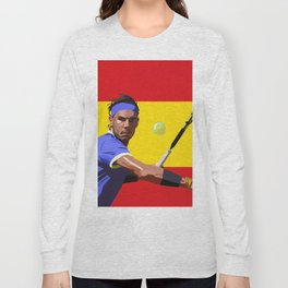 Rafael Nadal | Tennis Long Sleeve T-shirt