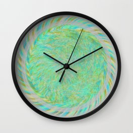 Magnetically Woven Mandala #1 Astronomy Print Science Print Wall Art Wall Clock