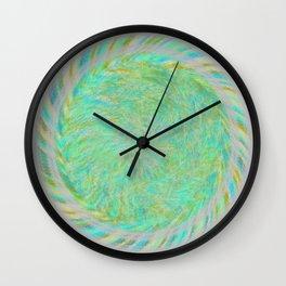 Magnetically Woven Mandala #1 Astronomy Print Science Print Wall Art Wall Clock