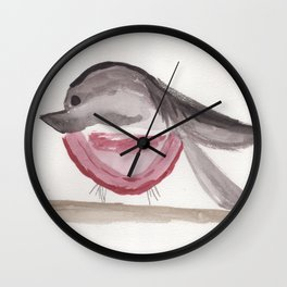 Bird in Paris Wall Clock