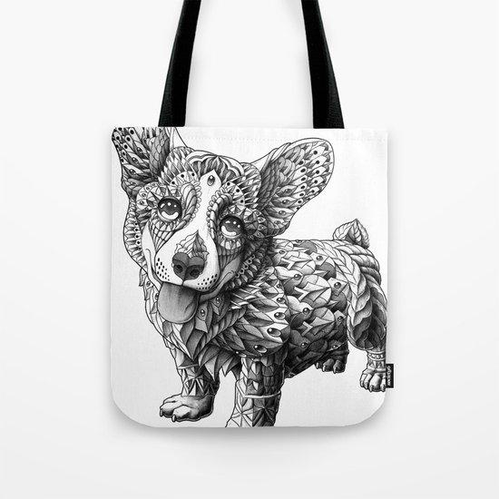 Corgi Puppy Tote Bag