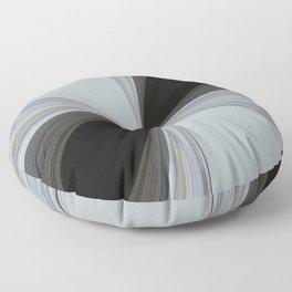 Brown and Grey Tones of Eucalyptus Swirl Pattern Floor Pillow