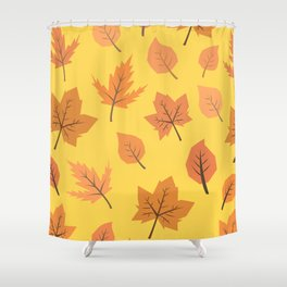 Hi Autumn Shower Curtain