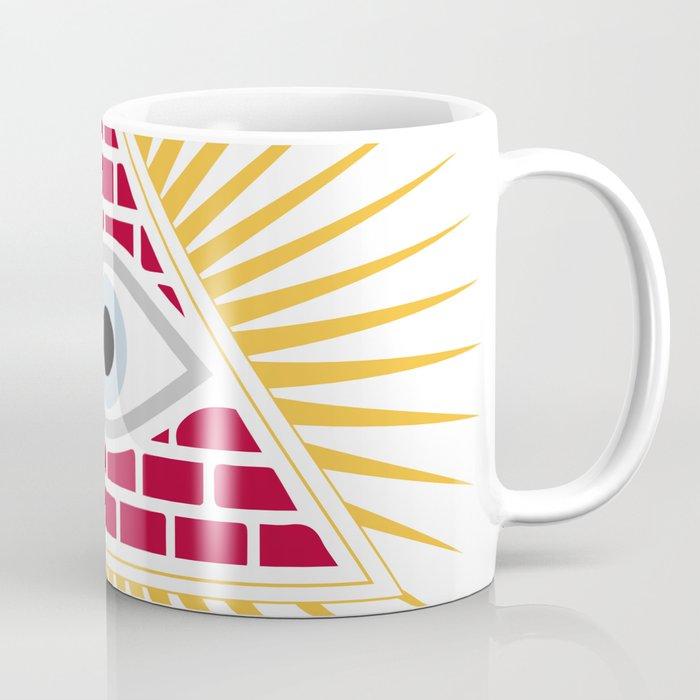 Freemasonic eye Coffee Mug