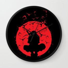 Silhouette Itachi Wall Clock