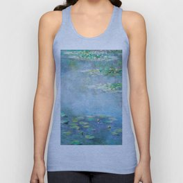 Monet Water Lilies / Nymphéas 1906 Unisex Tank Top