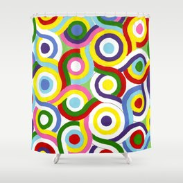 Seigaiha Series - Connection Shower Curtain