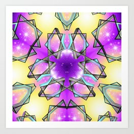 Seven Seven Seven Art Print