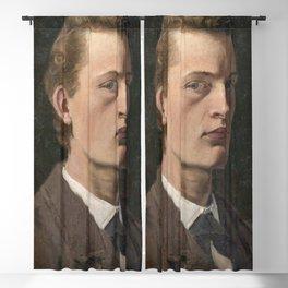 Edvard Munch - Self-Portrait Blackout Curtain