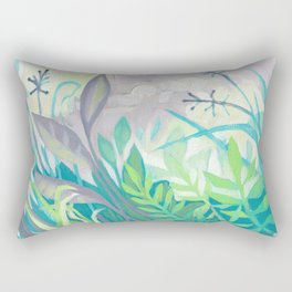 Enchanted Forest Floor III Rectangular Pillow