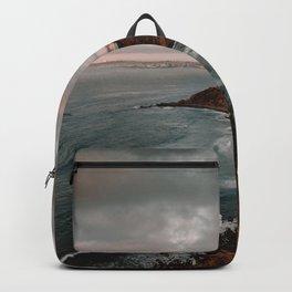 California Coastline Sunset II Backpack