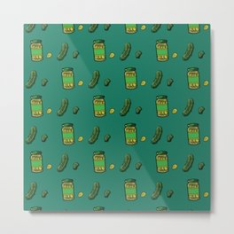 Pickle Love Metal Print