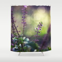 A Smile of Life Shower Curtain