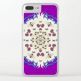 Eyes looking for the finest in life as calm love Clear iPhone Case
