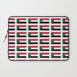 flag of sudan -sudan,السودان ,sudanese,nubia,khartoum,omdurman Laptop Sleeve