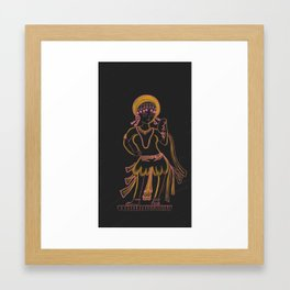 Natyarani Shanthala Framed Art Print