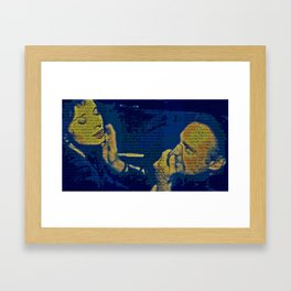 Frank And Particular Beers Framed Art Print