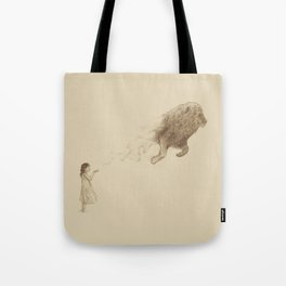 Sandy the Lion Tote Bag