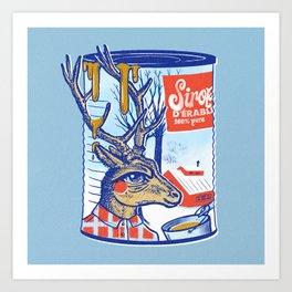 Maple sirup can Art Print