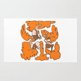 Fashion Po-Nays Orange Rug