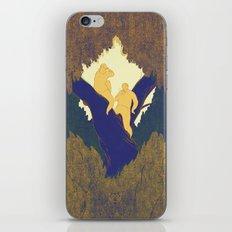 Treetop picnic iPhone & iPod Skin