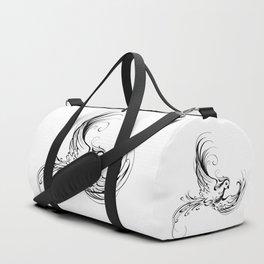 Stylized Bird Duffle Bag
