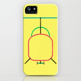 helicopter! iPhone Case