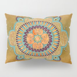 Mandala Ornament Pillow Sham