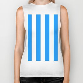 Retro 60s Surf Stripe Biker Tank