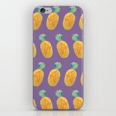 Pineapple Watercolor iPhone & iPod Skin