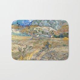 Landscape at Saint-Rémy by Vincent van Gogh Bath Mat