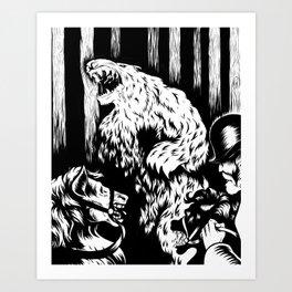 The Bear Art Print