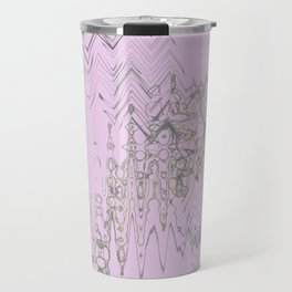 Another weird blurry and shaky colorful shapes hovering over weird wall Travel Mug