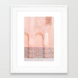 Marrakech Ben Youssef Framed Art Print