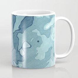 Aqua Shoreline Coffee Mug