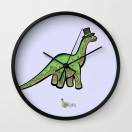 Fancy Dinosaur Wall Clock