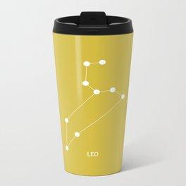 Constellations - LEO Metal Travel Mug