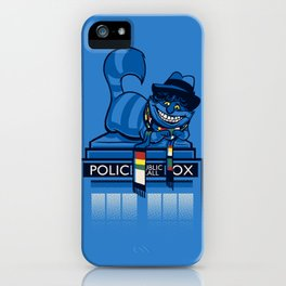 The Cheshire Doctor iPhone Case