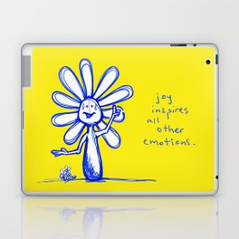 """Joy Inspires All Other Emotions"" Flowerkid Laptop & iPad Skin"