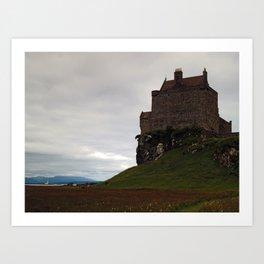 Duart Castle Art Print