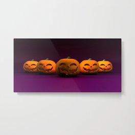 Halloween Copy Space Backdrop Theme Background Poster Metal Print