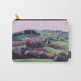 Umbria - Abstract Landscape #4 Carry-All Pouch