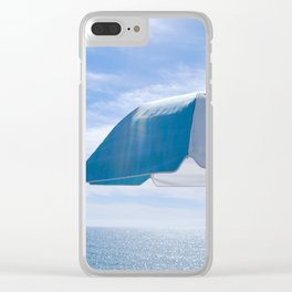 Malibu Umbrella Clear iPhone Case