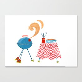 Southern Hygge: Barbecue Canvas Print