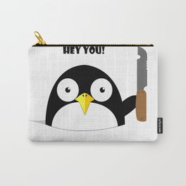 Hey_You_Run Carry-All Pouch