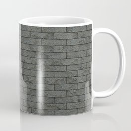 Grey Stone Bricks Wall Texture Coffee Mug