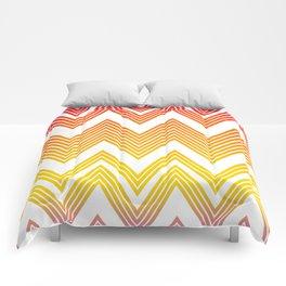 summer chevron Comforters