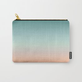 Color gradient background - fading sunset sky colors Carry-All Pouch