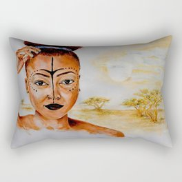 """Princess of Zamunda"" Rectangular Pillow"